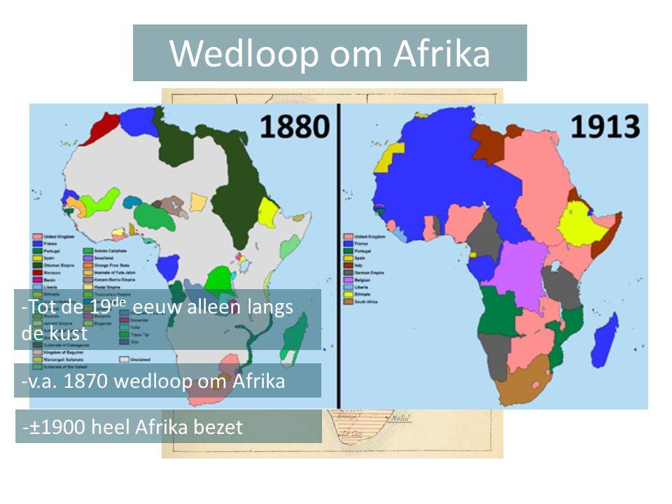 Wedloop om Afrika -Tot de 19de eeuw alleen langs de kust