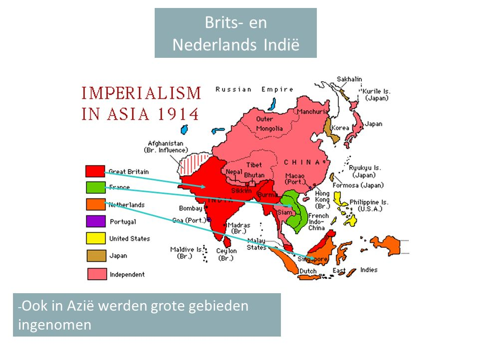 Brits- en Nederlands Indië