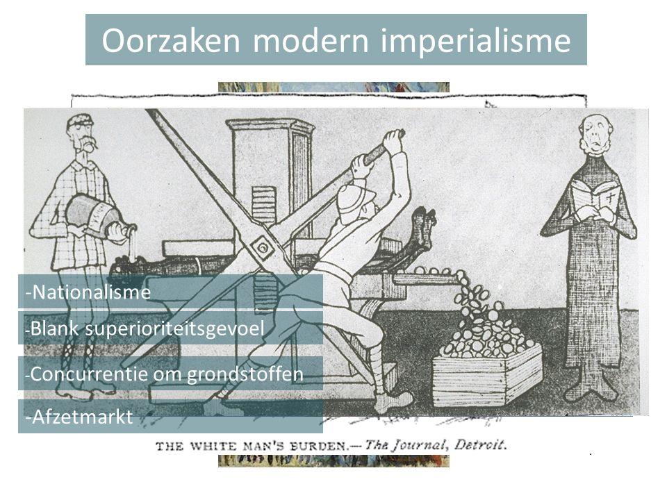 Oorzaken modern imperialisme