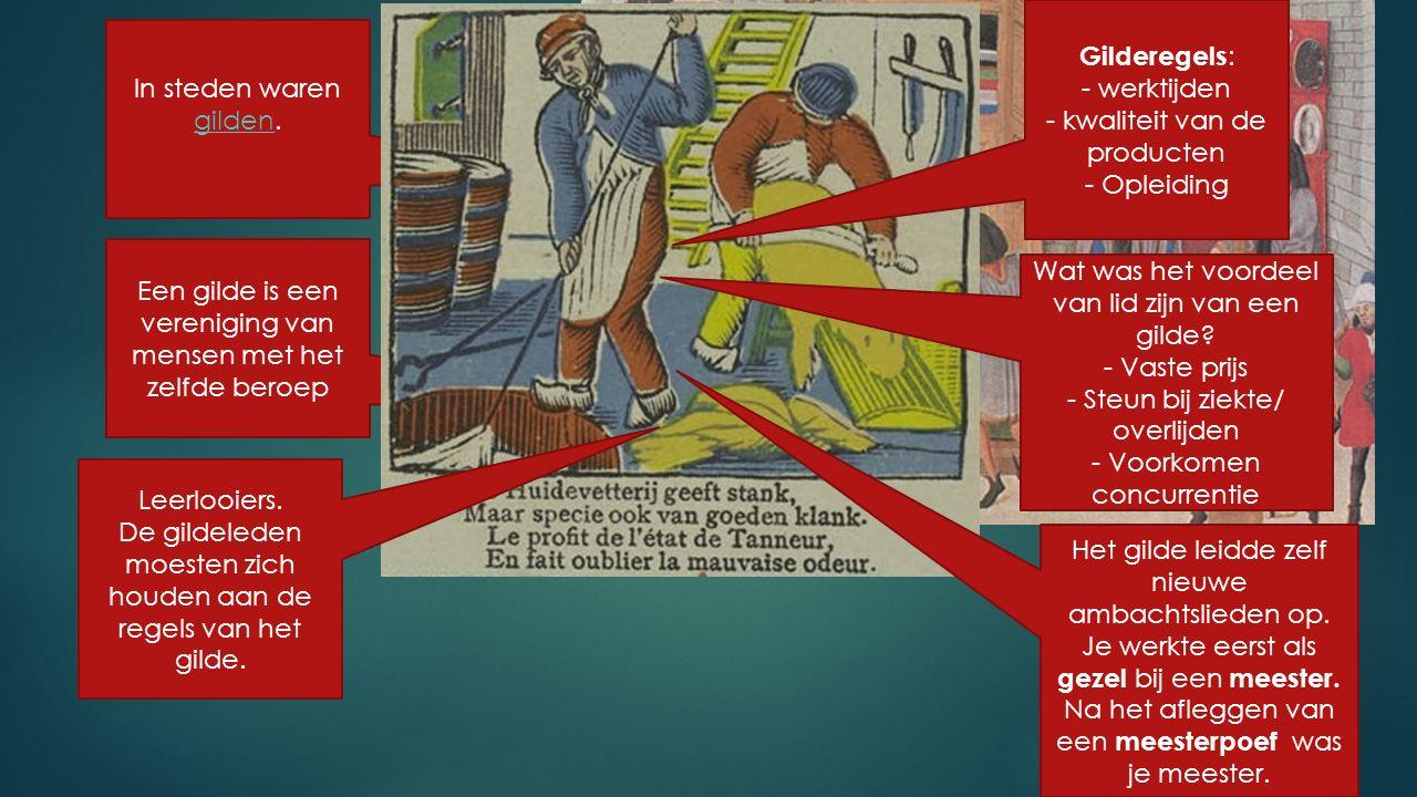 Gilderegels: - werktijden - kwaliteit van de producten - Opleiding