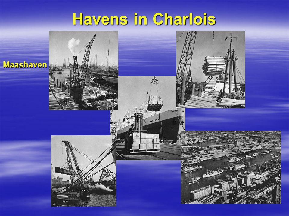 Havens in Charlois Maashaven