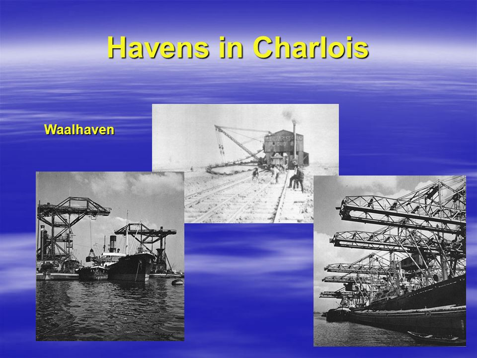 Havens in Charlois Waalhaven