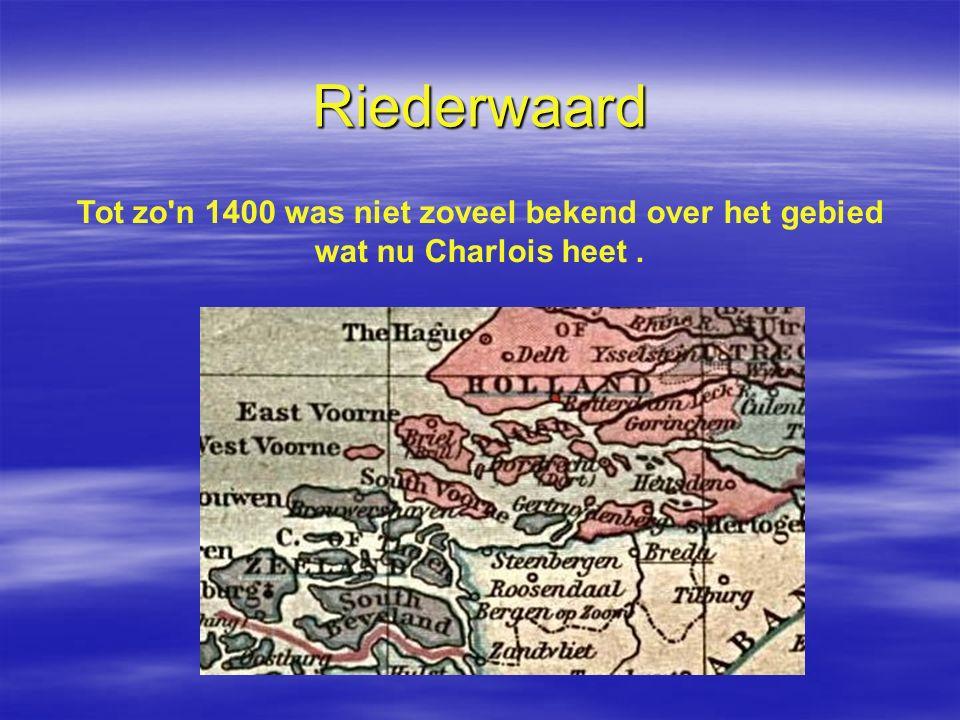 Riederwaard Tot zo n 1400 was niet zoveel bekend over het gebied wat nu Charlois heet .