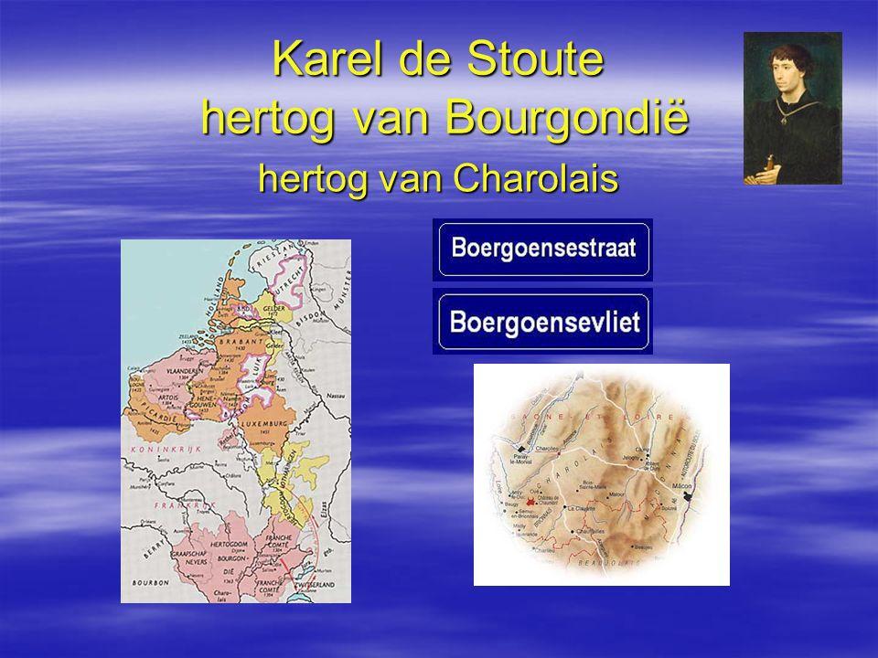 Karel de Stoute hertog van Bourgondië