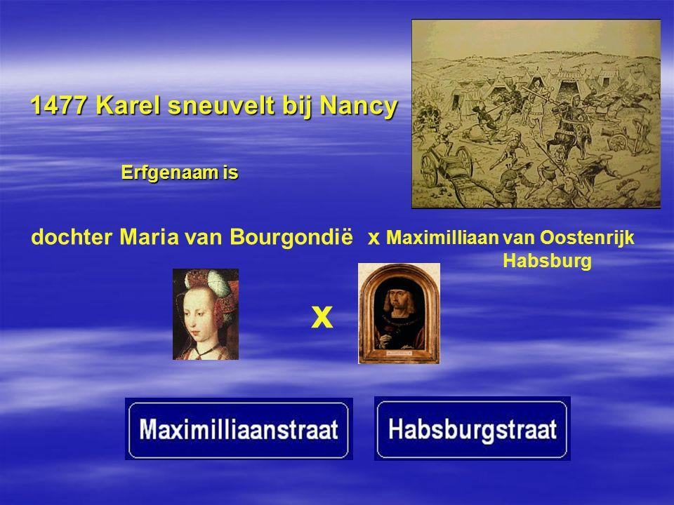 1477 Karel sneuvelt bij Nancy
