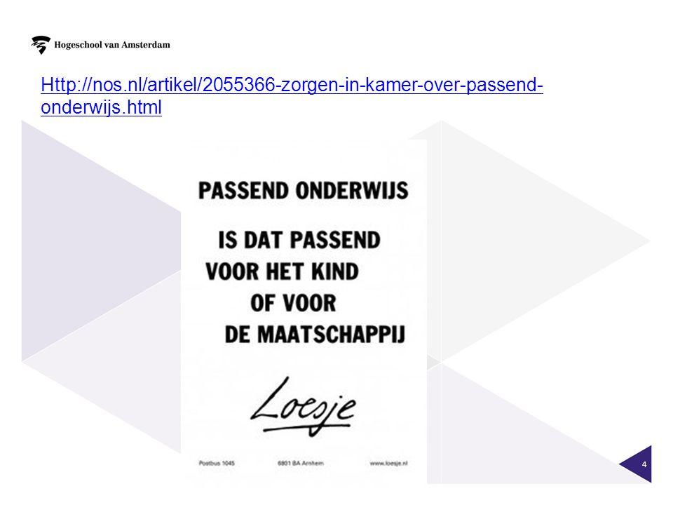 Http://nos. nl/artikel/2055366-zorgen-in-kamer-over-passend-onderwijs