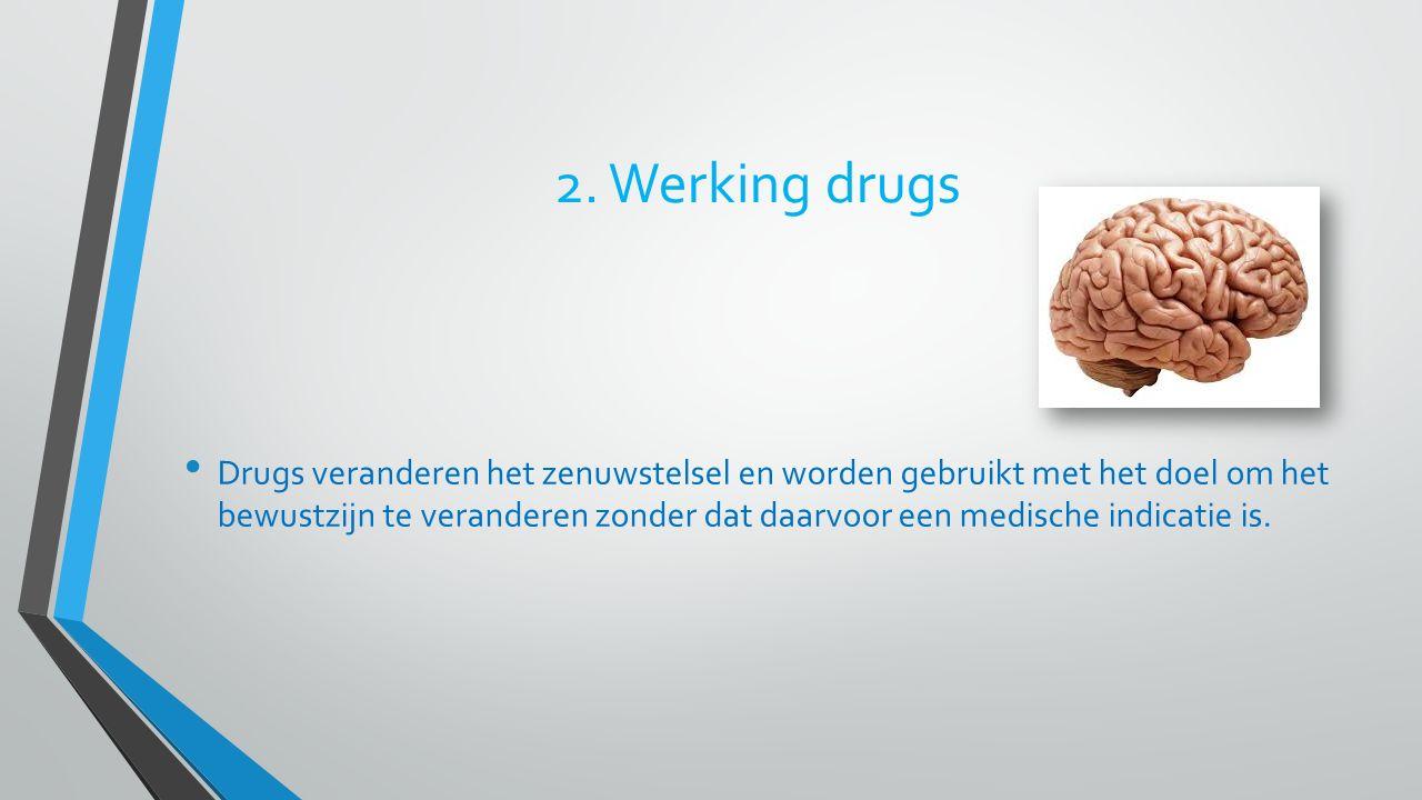 2. Werking drugs