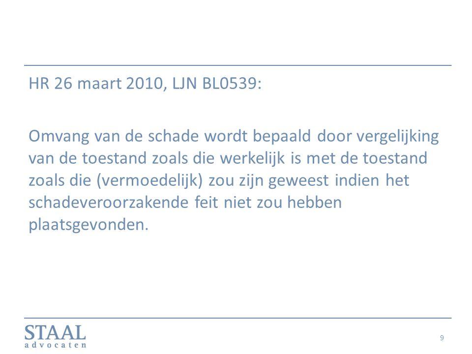 HR 26 maart 2010, LJN BL0539: