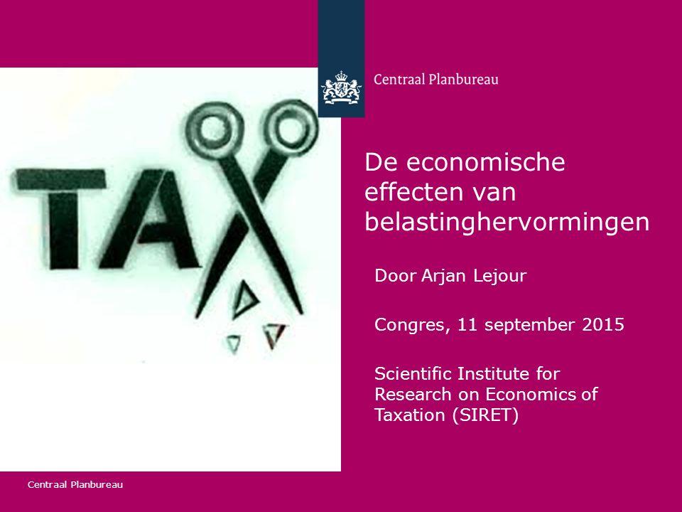 De economische effecten van belastinghervormingen