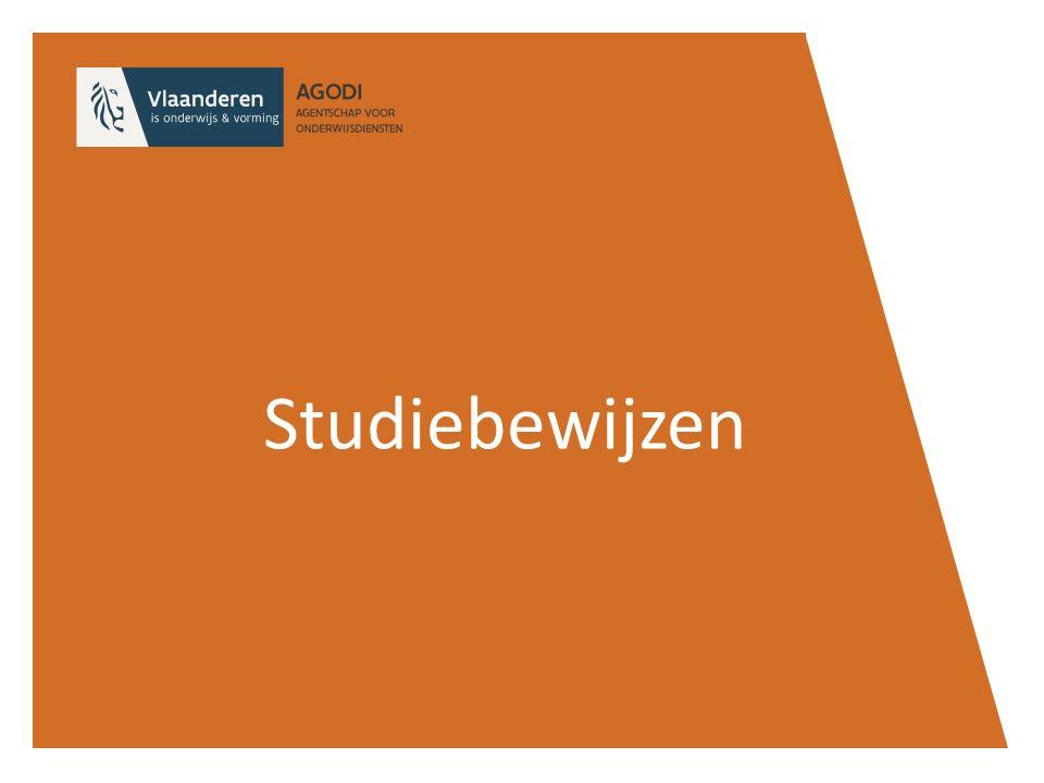 Studiebewijzen