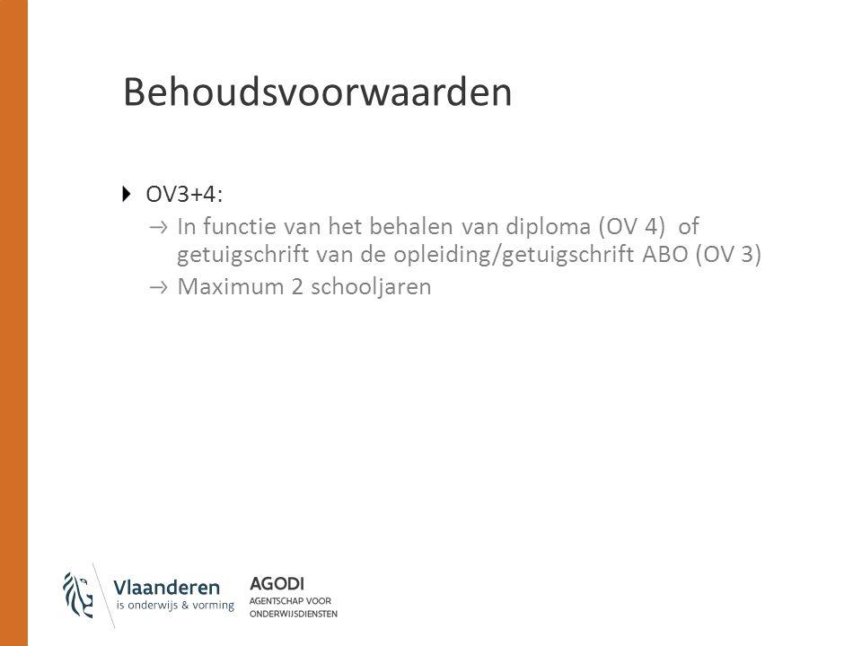 Behoudsvoorwaarden OV3+4: