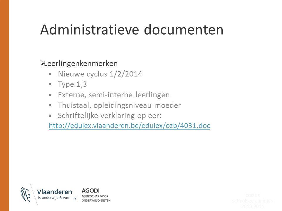 Administratieve documenten