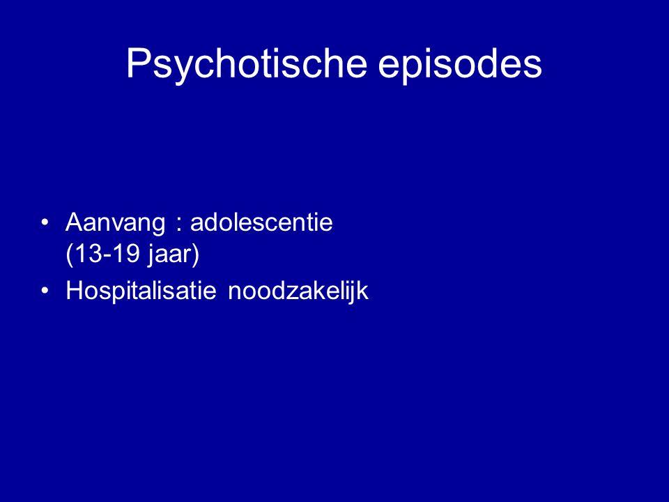 Psychotische episodes