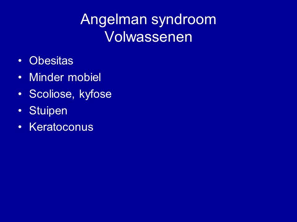 Angelman syndroom Volwassenen