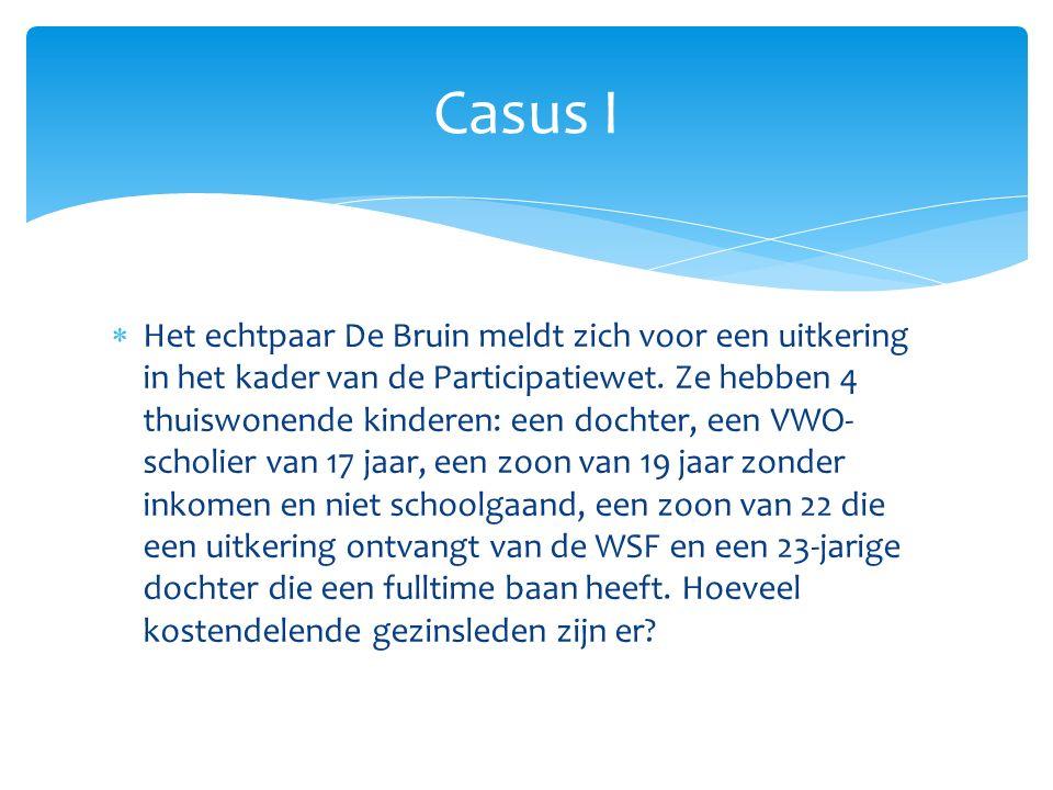 Casus I
