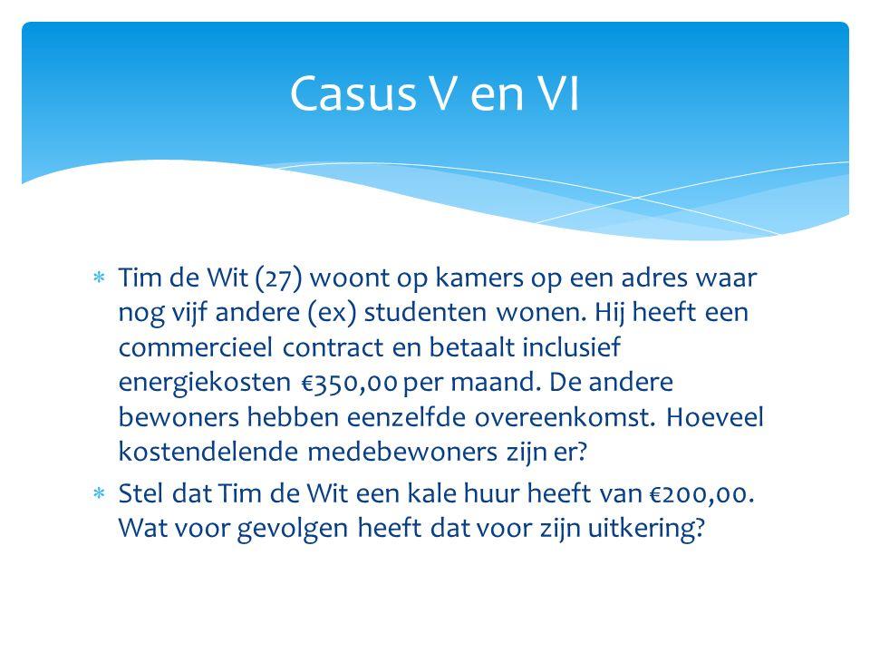 Casus V en VI