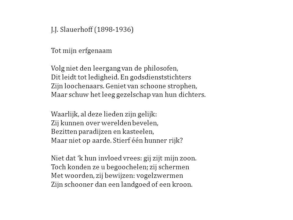 J.J. Slauerhoff (1898-1936)