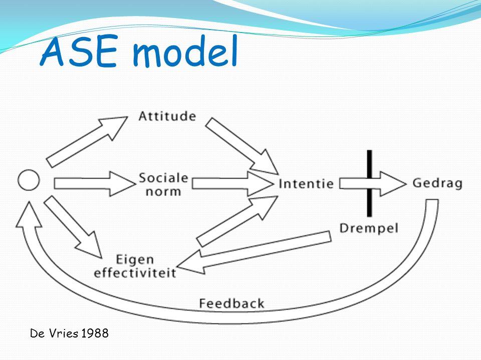 ASE model De Vries 1988