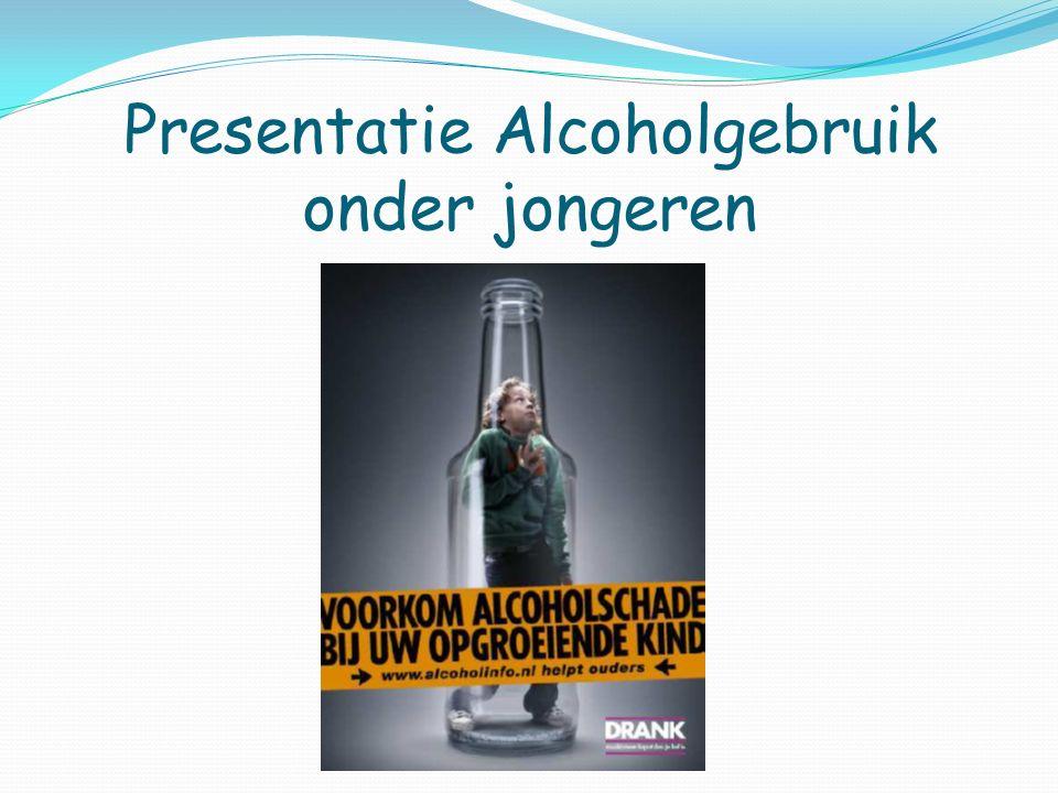 Presentatie Alcoholgebruik onder jongeren