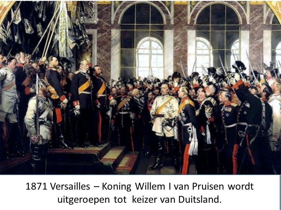 Frans- Duitse oorlog 1870-1871.