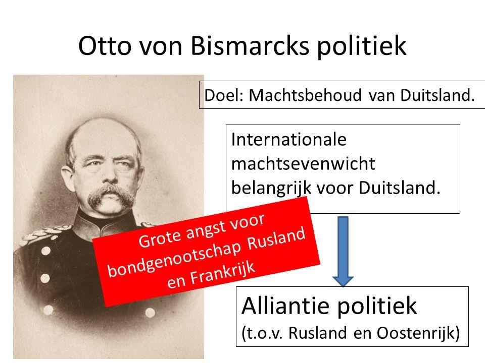Otto von Bismarcks politiek