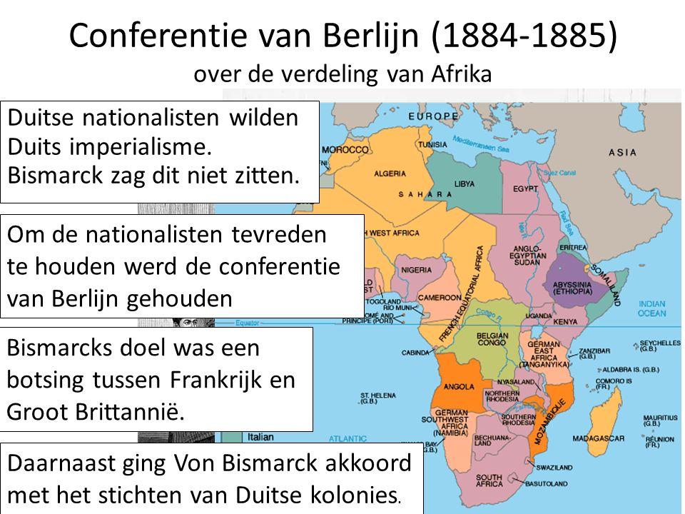 Conferentie van Berlijn (1884-1885) over de verdeling van Afrika