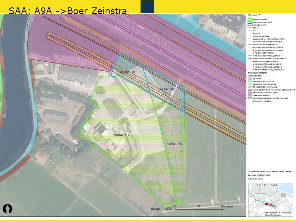 SAA: A9A ->Boer Zeinstra