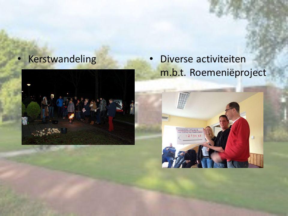 Kerstwandeling Diverse activiteiten m.b.t. Roemeniëproject