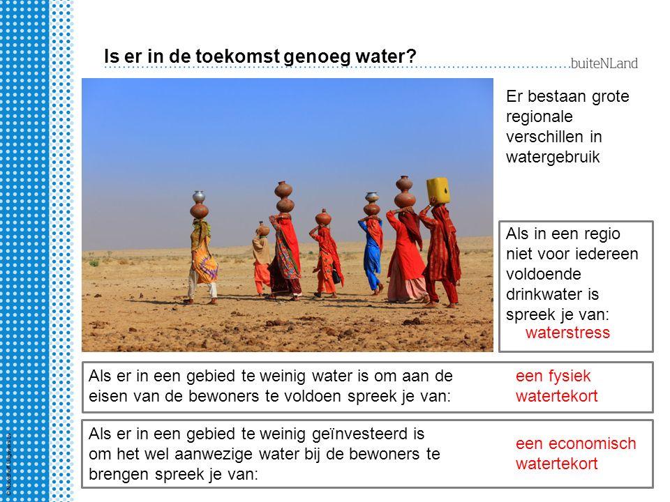 Is er in de toekomst genoeg water