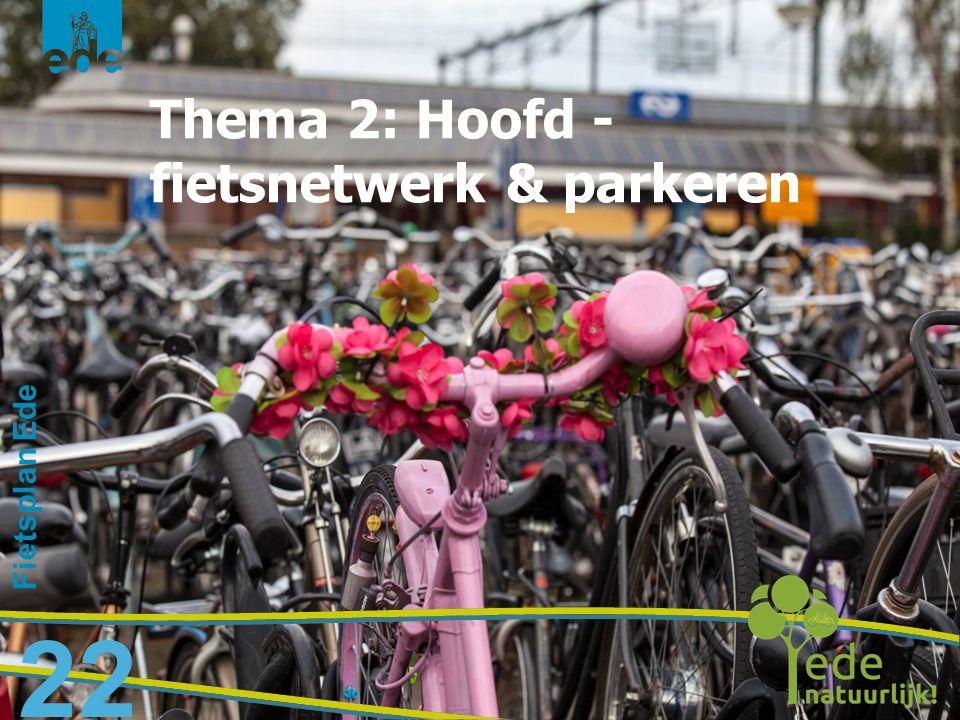 Thema 2: Hoofd - fietsnetwerk & parkeren