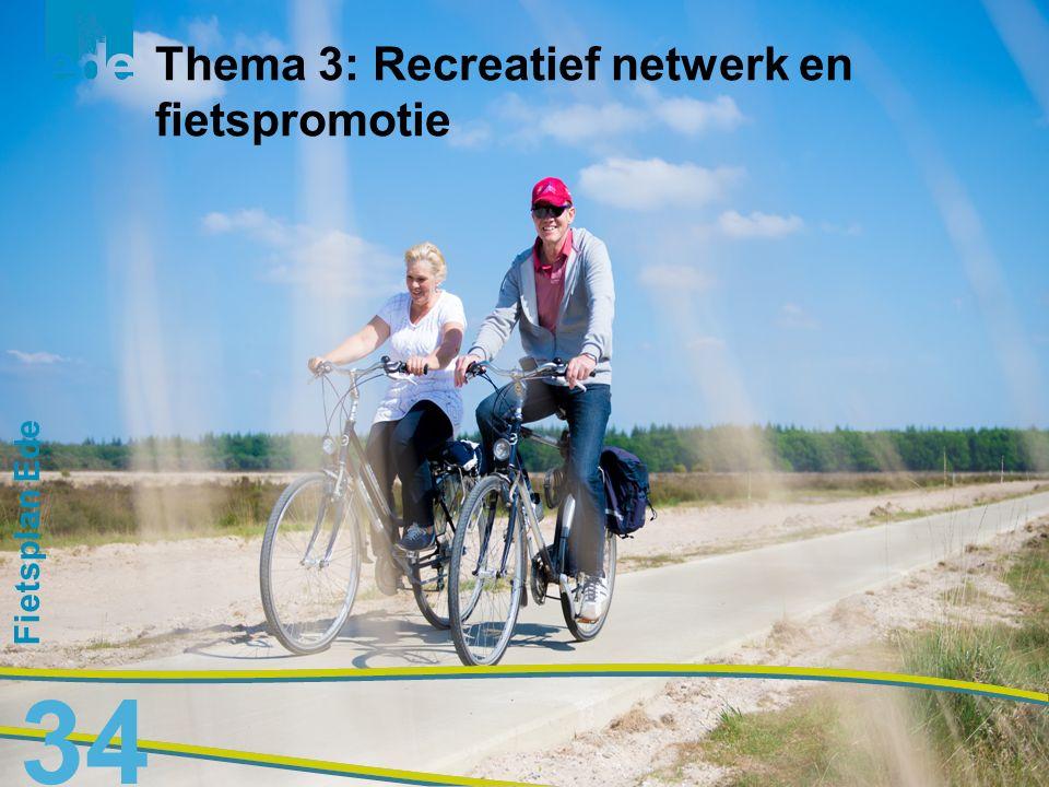 Thema 3: Recreatief netwerk en fietspromotie