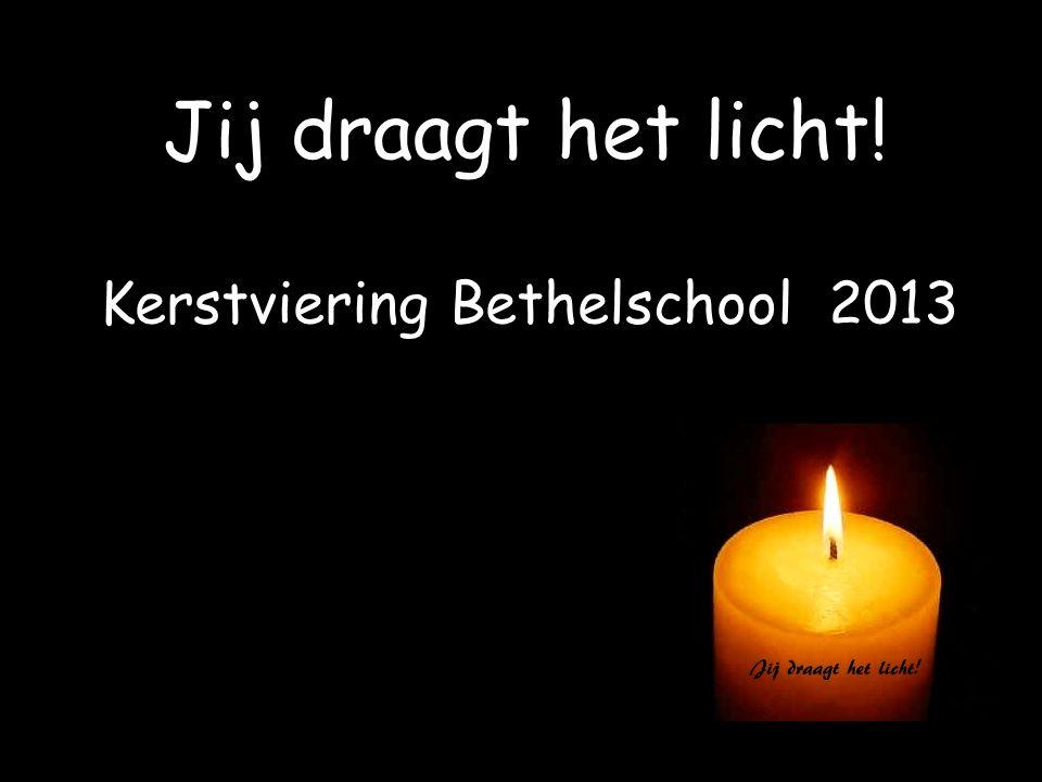 Kerstviering Bethelschool 2013