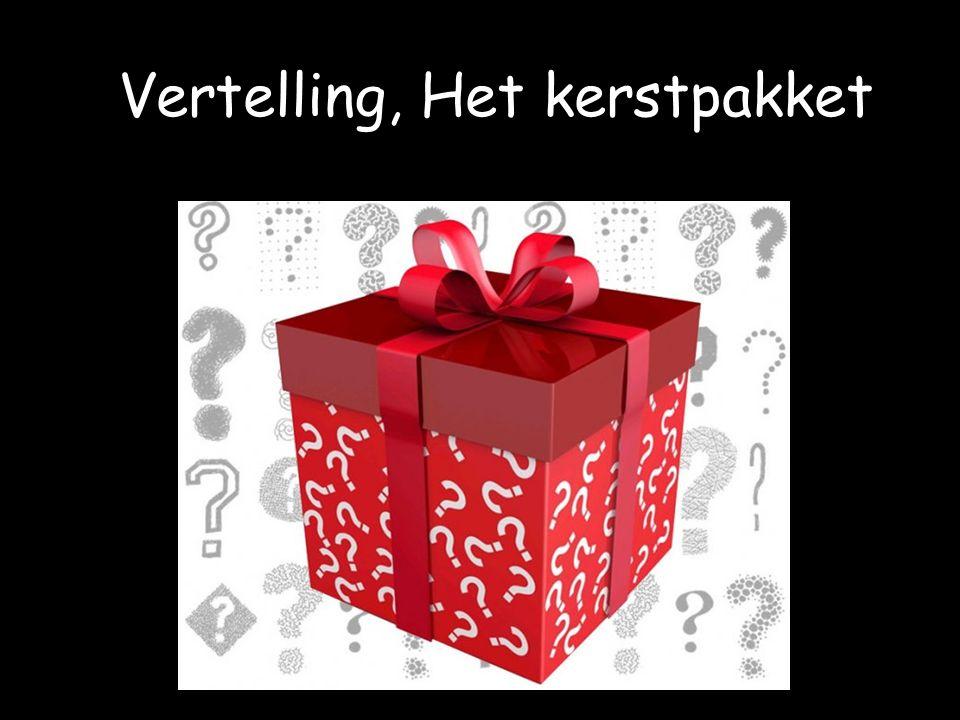 Vertelling, Het kerstpakket