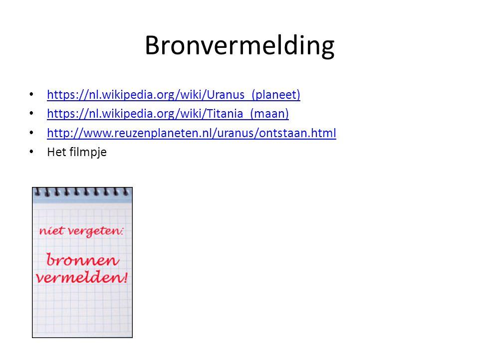 Bronvermelding https://nl.wikipedia.org/wiki/Uranus_(planeet)
