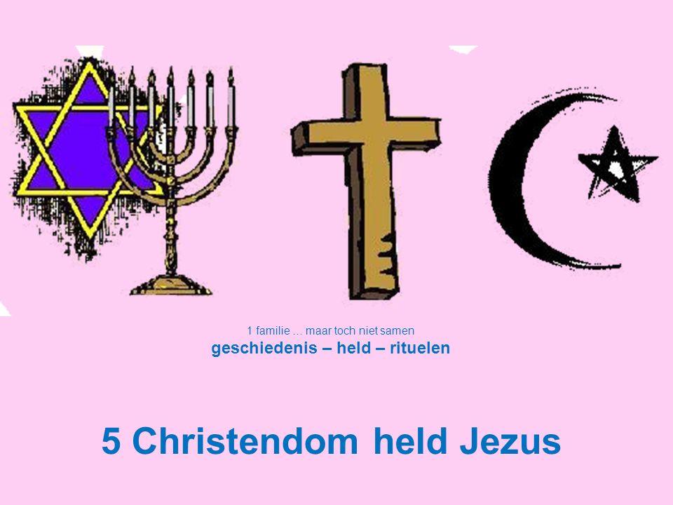 geschiedenis – held – rituelen 5 Christendom held Jezus