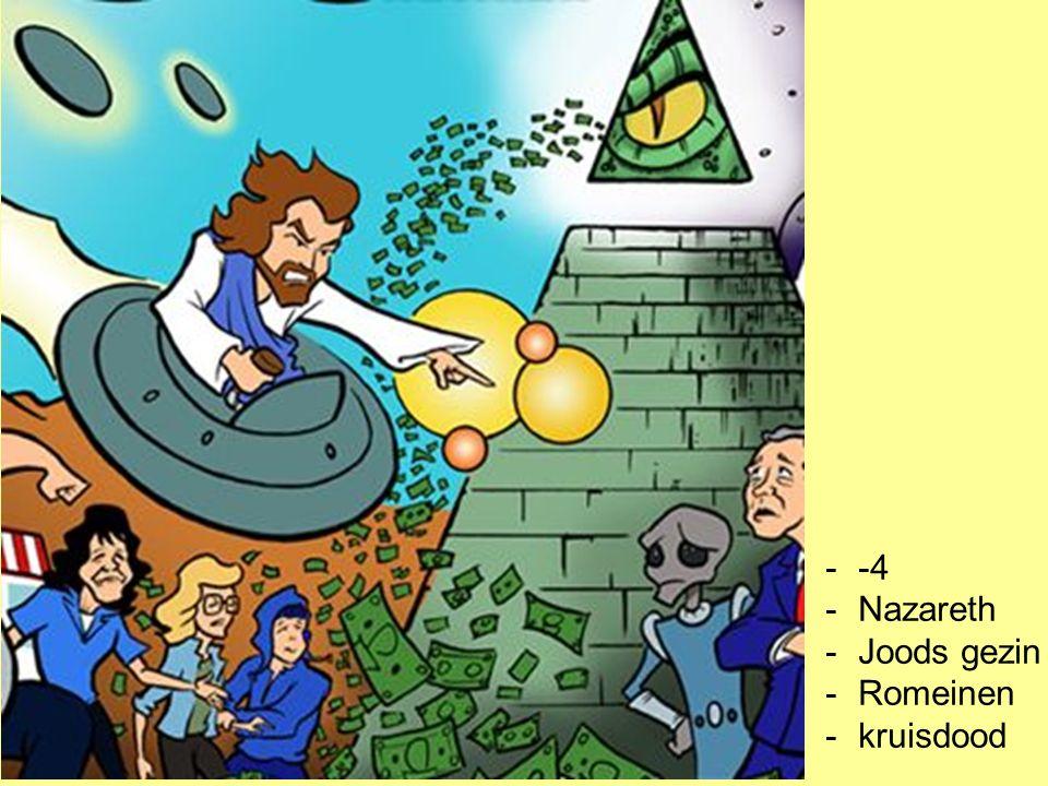 -4 Nazareth Joods gezin Romeinen kruisdood