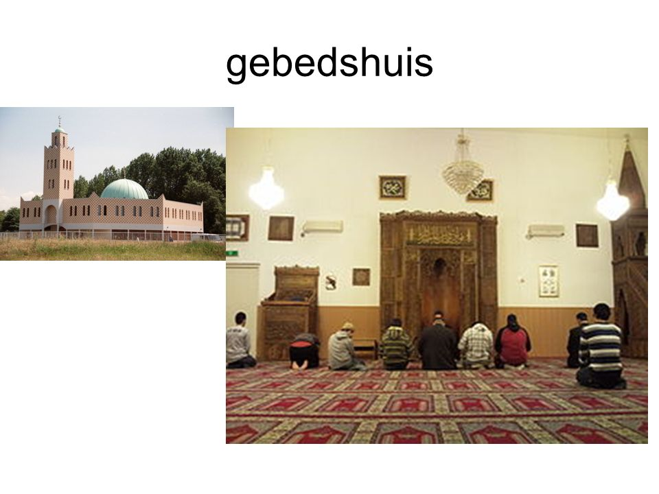 gebedshuis Moskee
