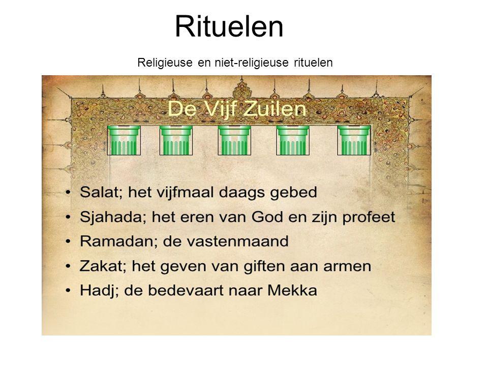 Rituelen Religieuse en niet-religieuse rituelen