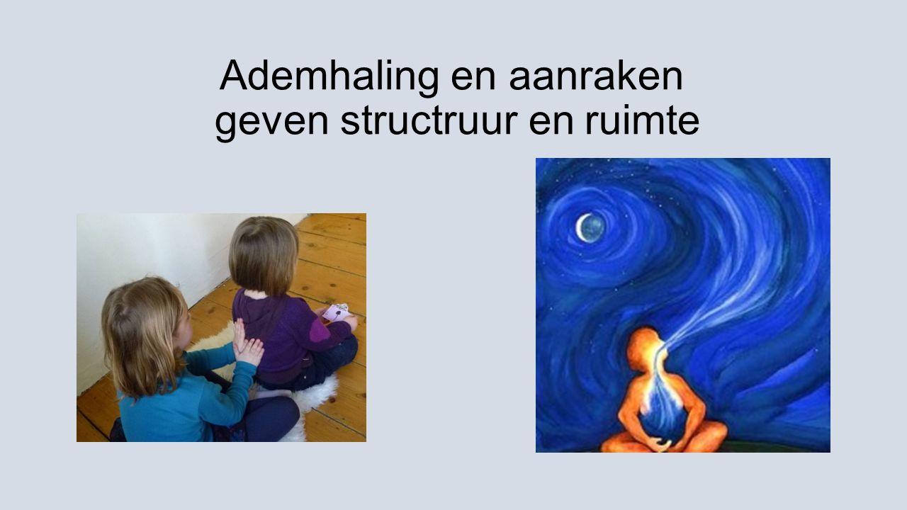 Ademhaling en aanraken geven structruur en ruimte