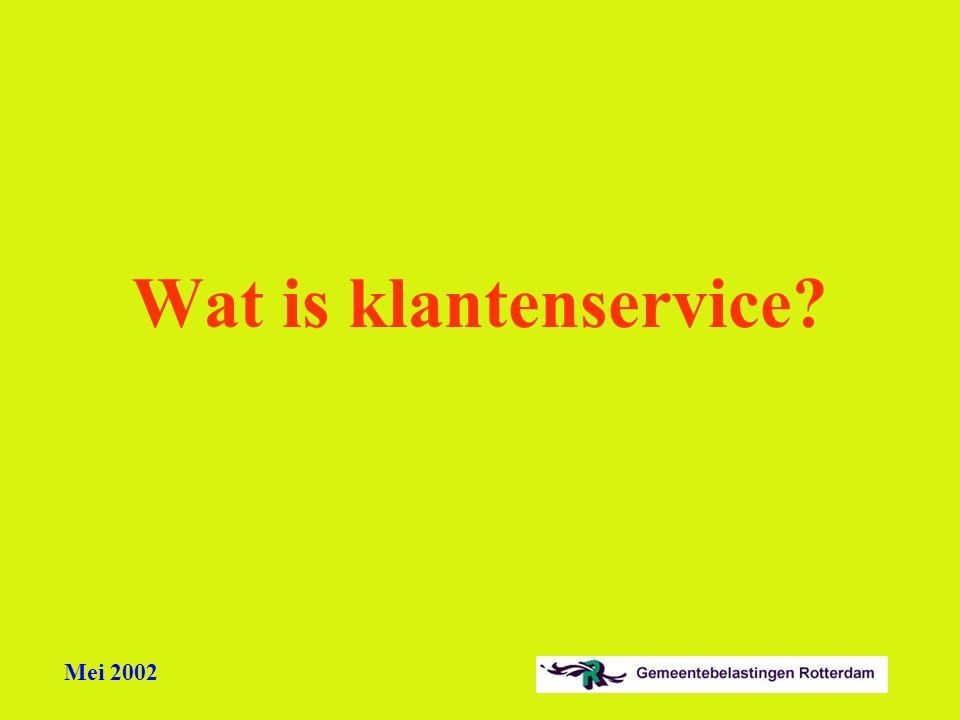 Wat is klantenservice