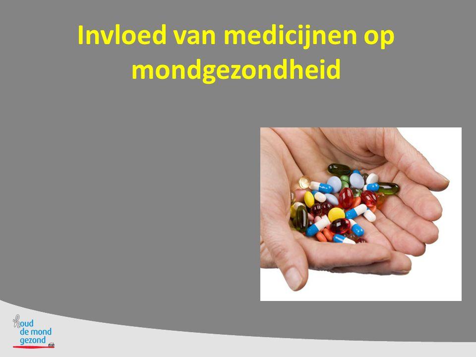 Invloed van medicijnen op mondgezondheid