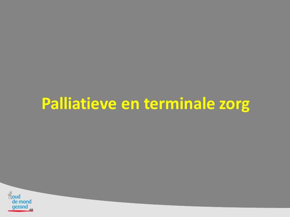 Palliatieve en terminale zorg