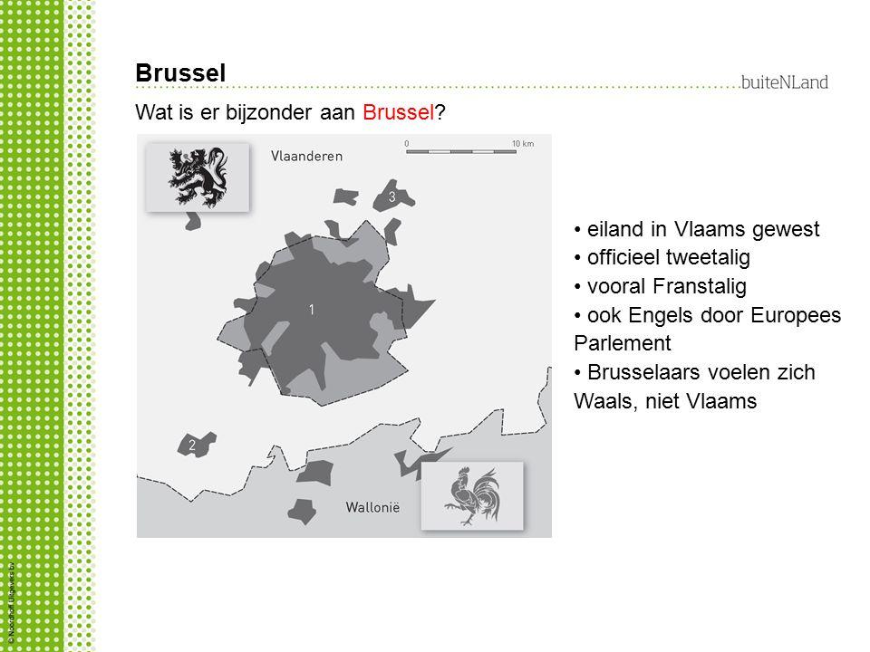 Brussel Wat is er bijzonder aan Brussel eiland in Vlaams gewest