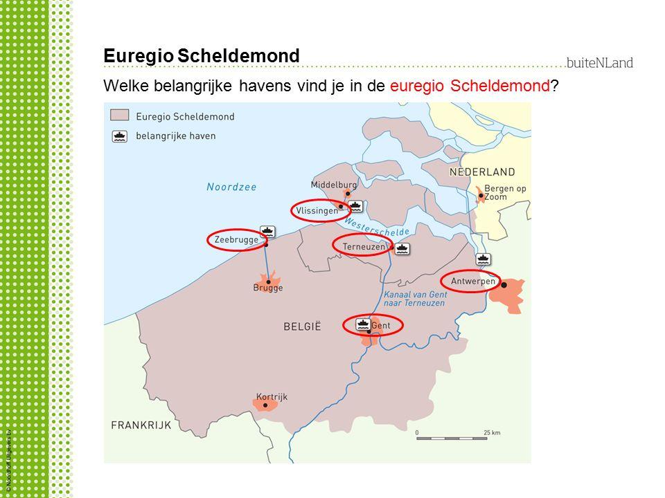 Euregio Scheldemond Welke belangrijke havens vind je in de euregio Scheldemond