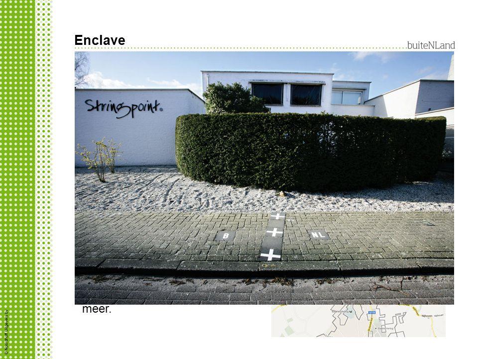 Enclave Wat is een enclave