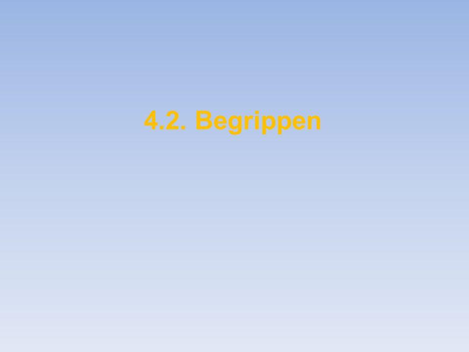 4.2. Begrippen