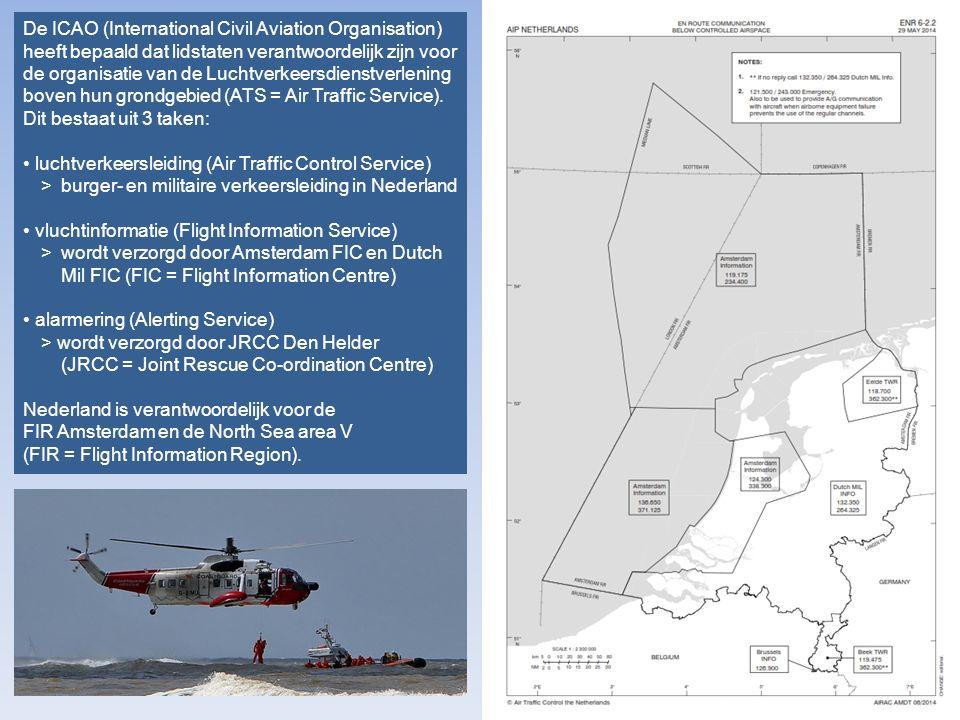 De ICAO (International Civil Aviation Organisation) heeft bepaald dat lidstaten verantwoordelijk zijn voor de organisatie van de Luchtverkeersdienstverlening boven hun grondgebied (ATS = Air Traffic Service).