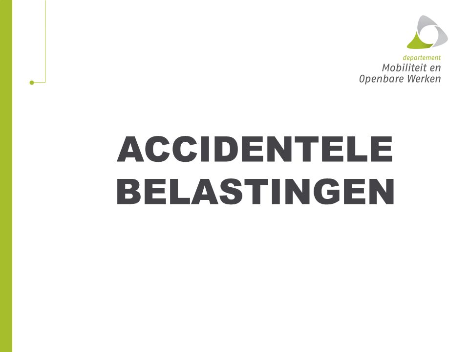 Accidentele belastingen