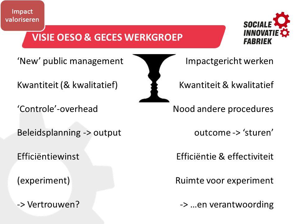 Visie OESO & GECES werkgroep