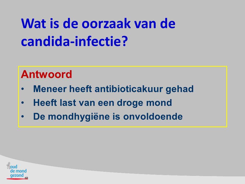 Wat is de oorzaak van de candida-infectie